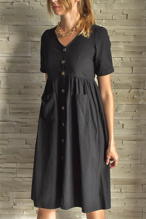 Vintage button up dress - Provincial