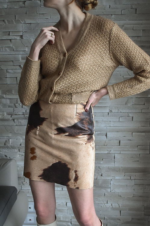 Leather Mini skirt - Carla