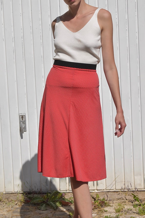 Striped midi skirt - Salsa