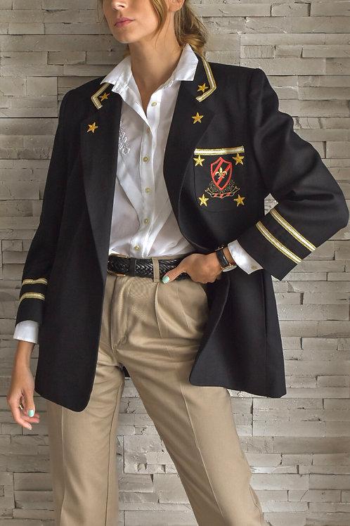 Military styled blazer - Revolution