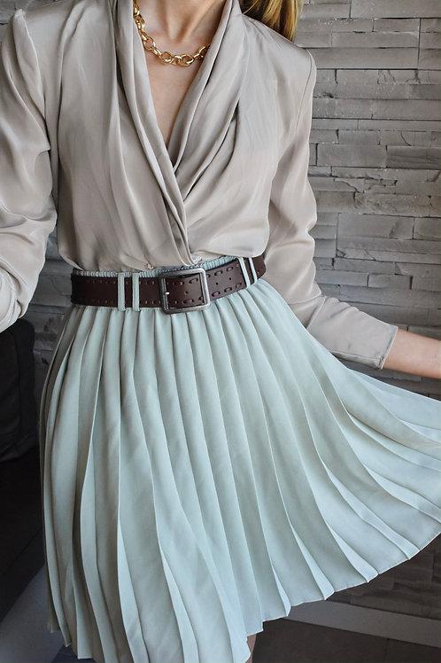 Pleated skirt - Old drama