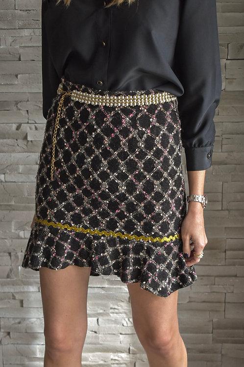 Tweed skirt - Rhombus