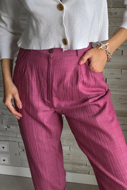 Cropped capri trousers - Violetta
