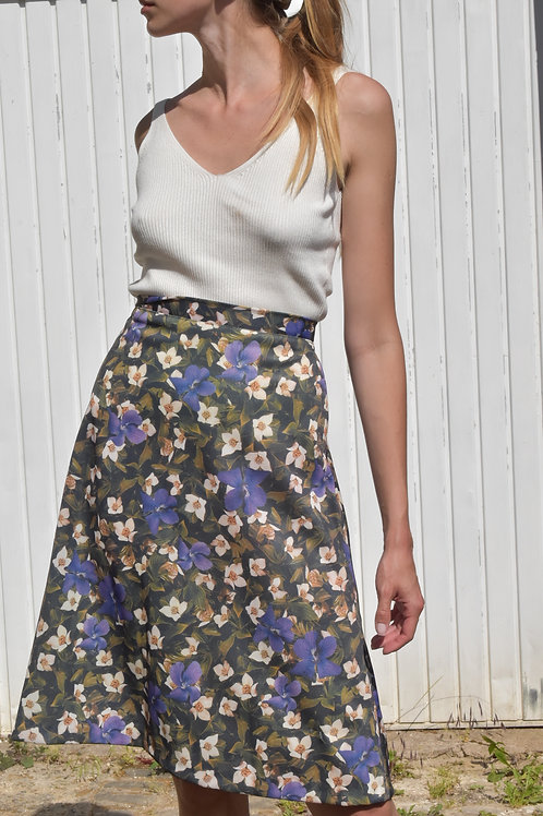 Floral midi skirt - Sirena