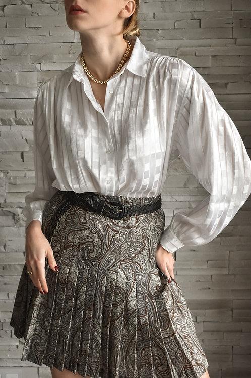 White loose sleeves blouse - Nancy