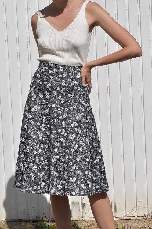 Floral midi skirt - Venera