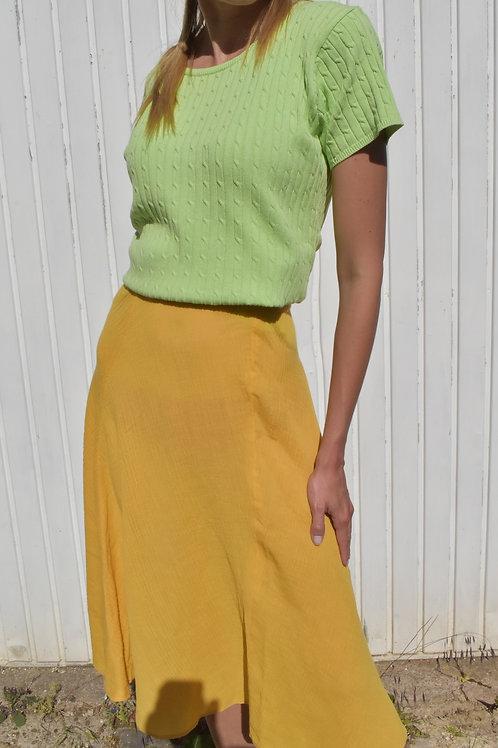 Floral midi skirt - Coup de soleil
