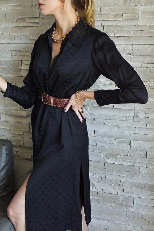 Front buttoned dress - Moonlight