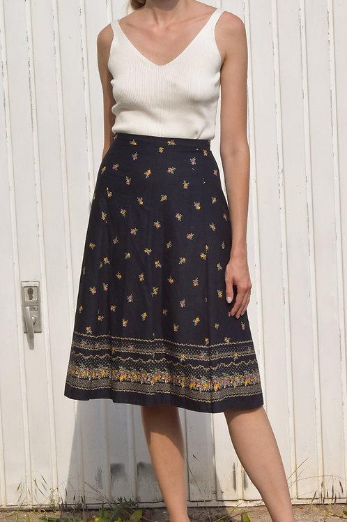 Floral midi skirt - Cap Ferret
