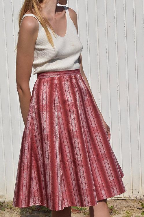Floral midi skirt - Melissa