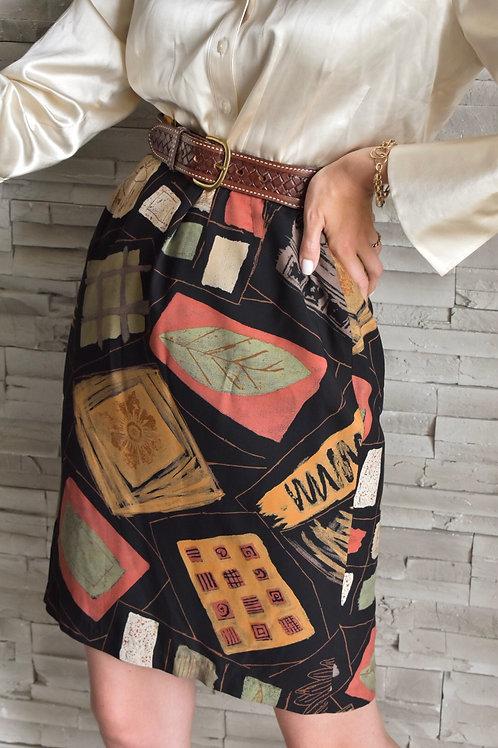 Organic pattern skirt - Particular Lady