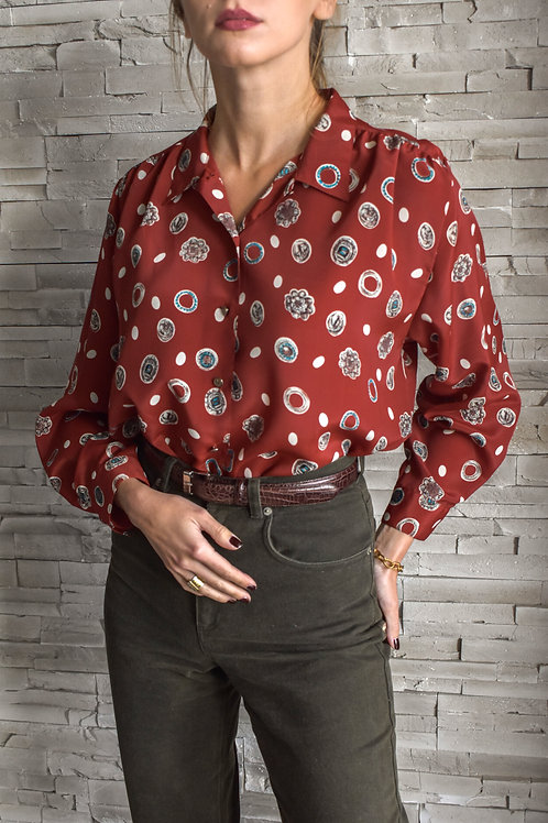 Graphic printed blouse - Sally