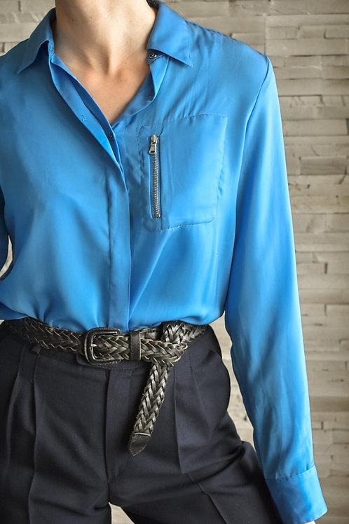 Ralph Lauren blue blouse - Ocean fever