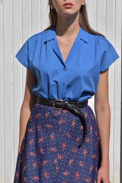Shirt - Blue cointreau
