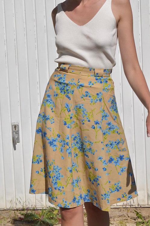 50's Floral midi skirt - Sussanna