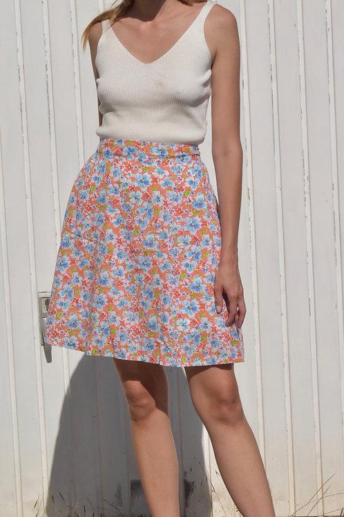 Floral midi skirt - Costa Brava
