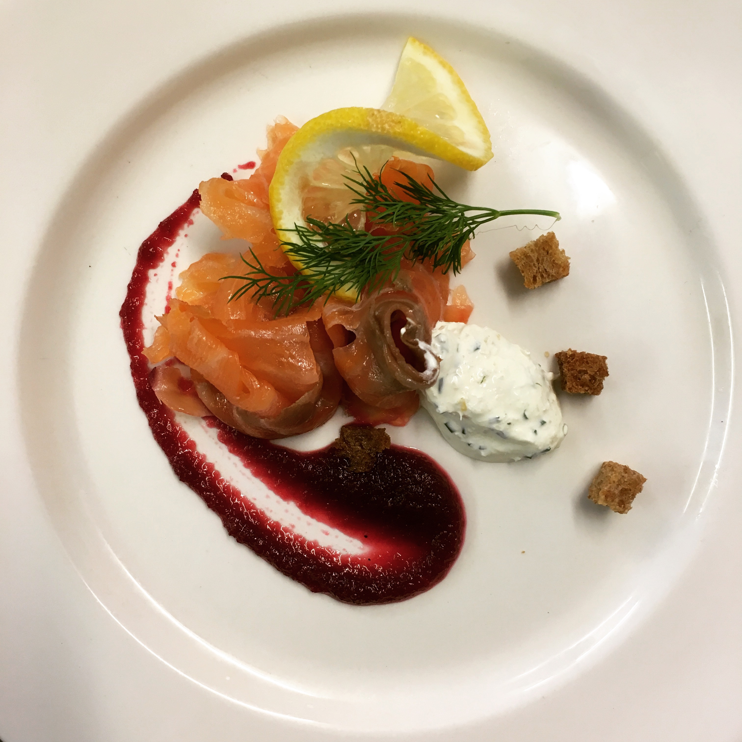 Springs smoked salmon