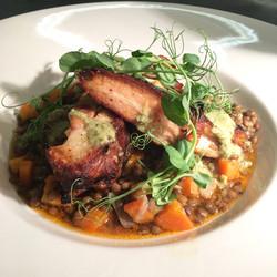 Pork rib and puy lentil cassoulet