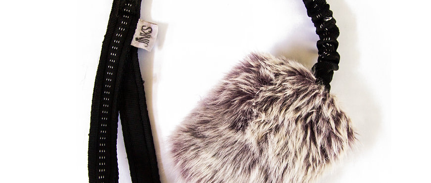 Bungee faux-fur tuggies