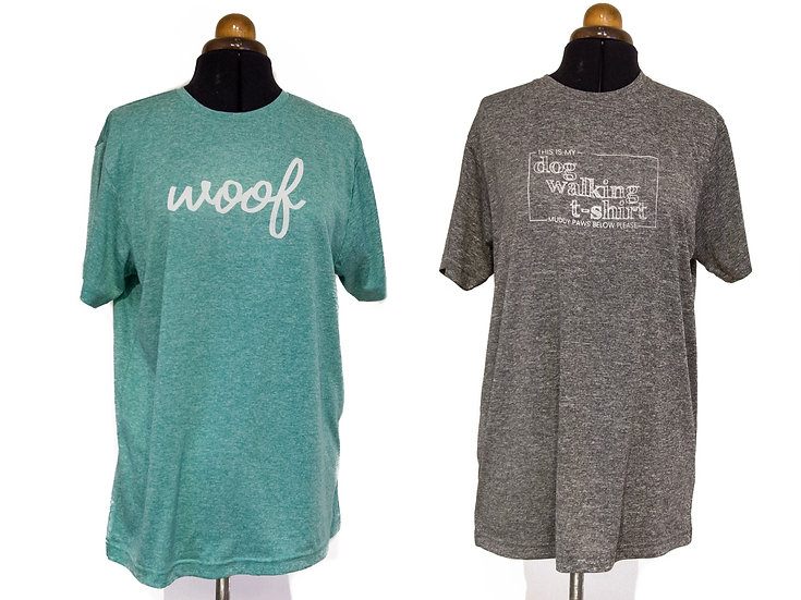 Unisex sports/dog walking t-shirts