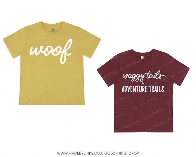 Kids organic cotton T-shirt