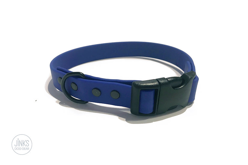 Lightweight BioThane sport collar - 20 mm wide