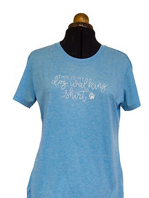 Ladies fit sports/dog walking t-shirts