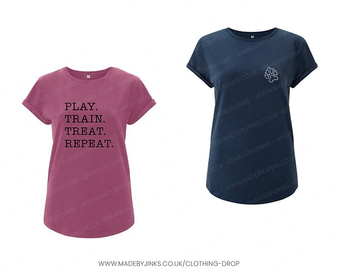 Ladies fit organic cotton T-shirt