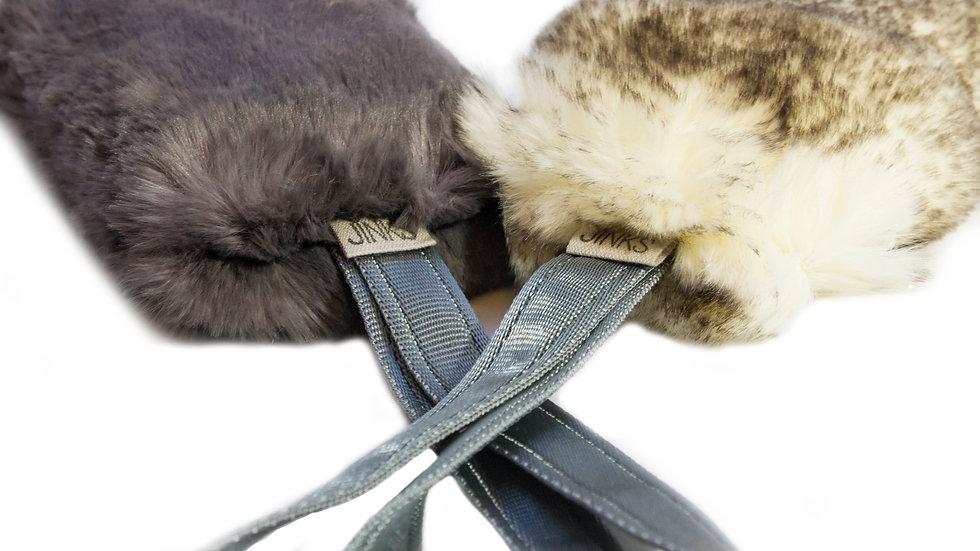 Luxury Faux-fur tuggies