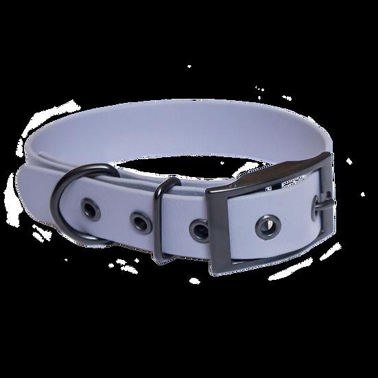 Peak steel adjustable BioThane collar