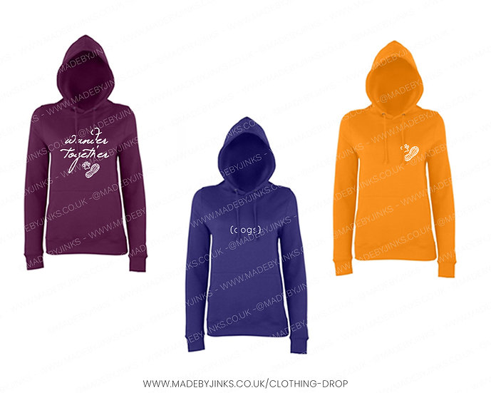 Ladies fit Hoodies