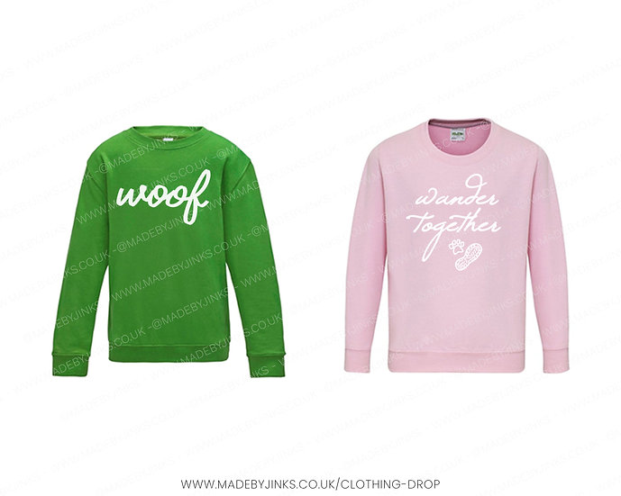 Kids size Cosy Sweaters