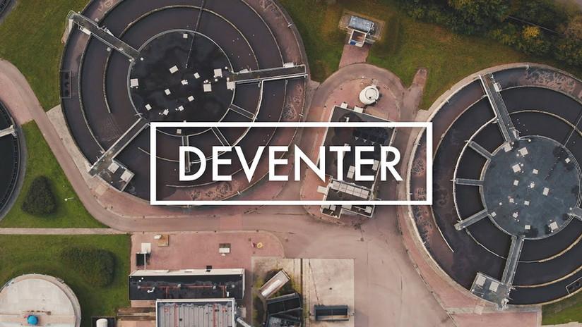 Een klein stukje Deventer   Filmische dronevideo in 4K   DJI Mavic Air