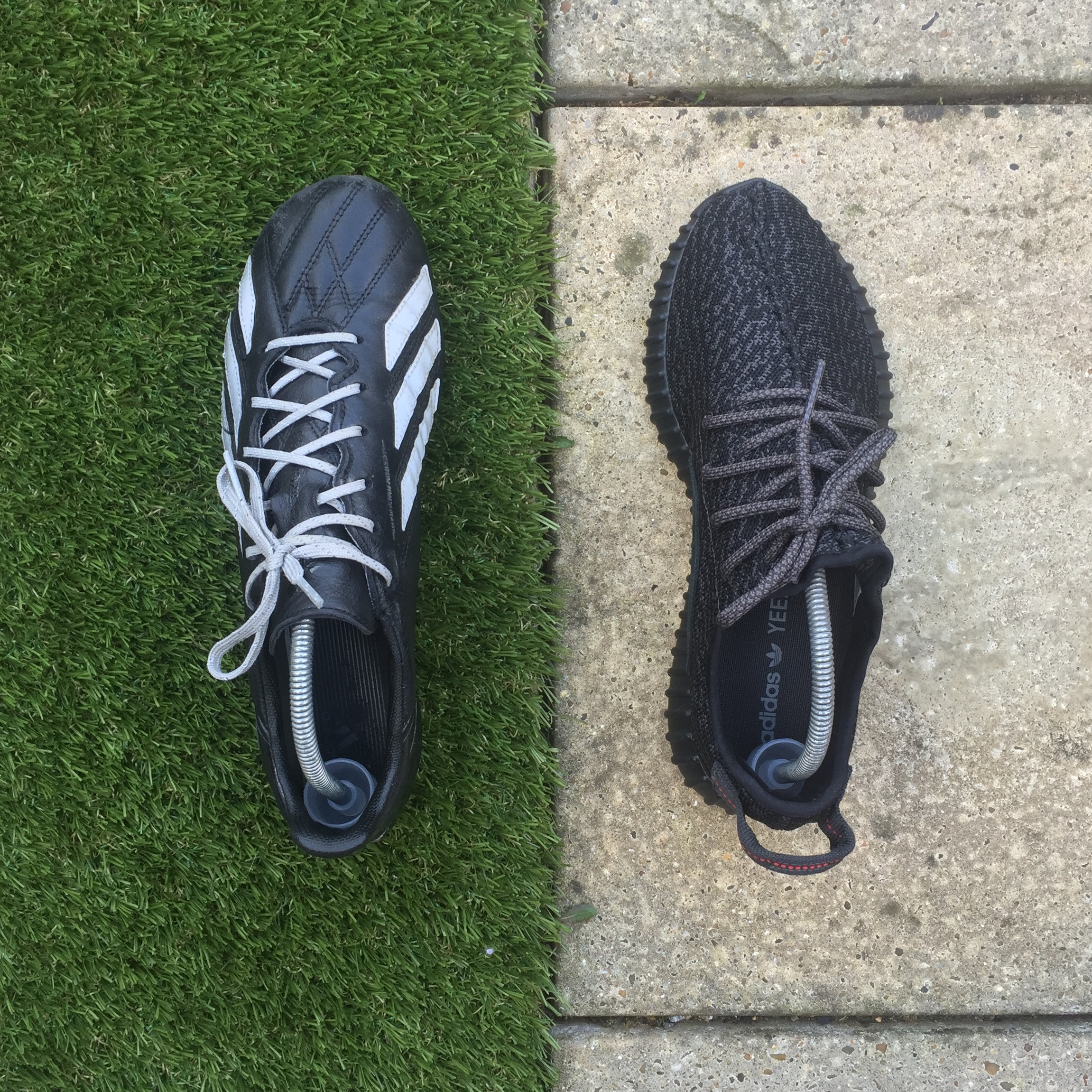 Adidas F50 Enlighten & Yeezy Boost 350