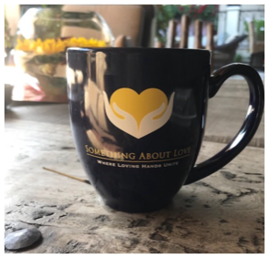 Something About Love Coffee Mug