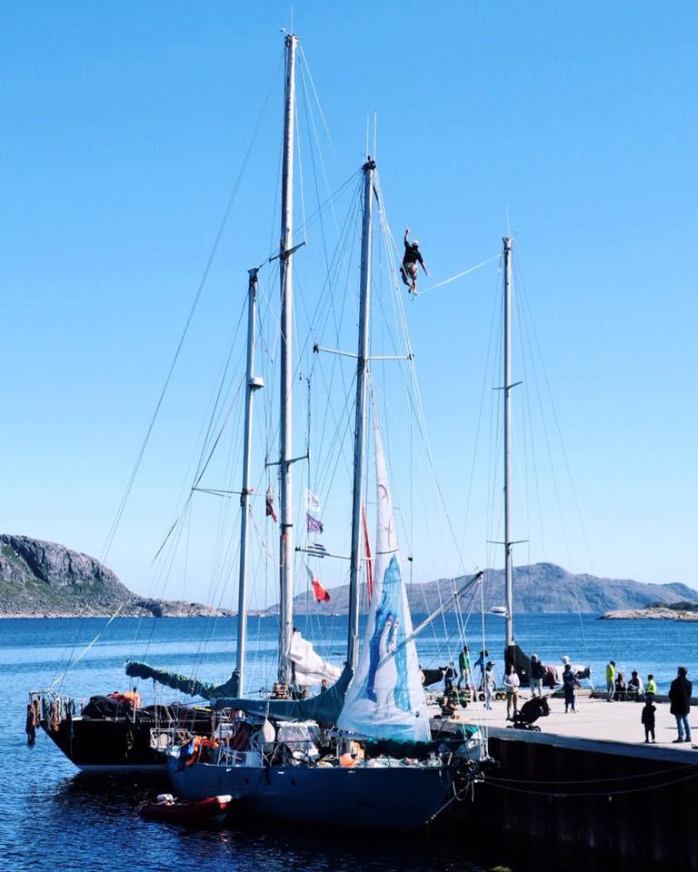 Kermesse à Nanortalik, Groenland