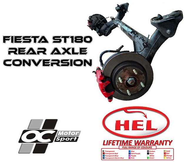 ULTIMATE ST180 REAR AXLE UPGRADE FOR MK7 Fiesta Zetec and 1.0l EcoBoost