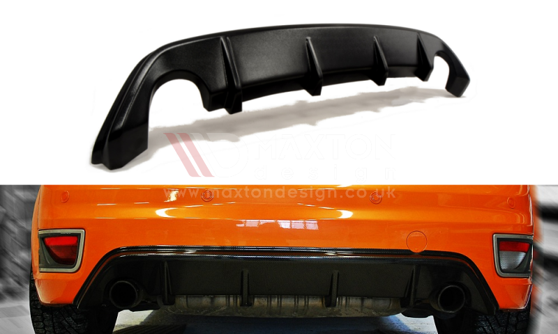 Maxton Design - Rear valance Ford Focus ST (Preface)