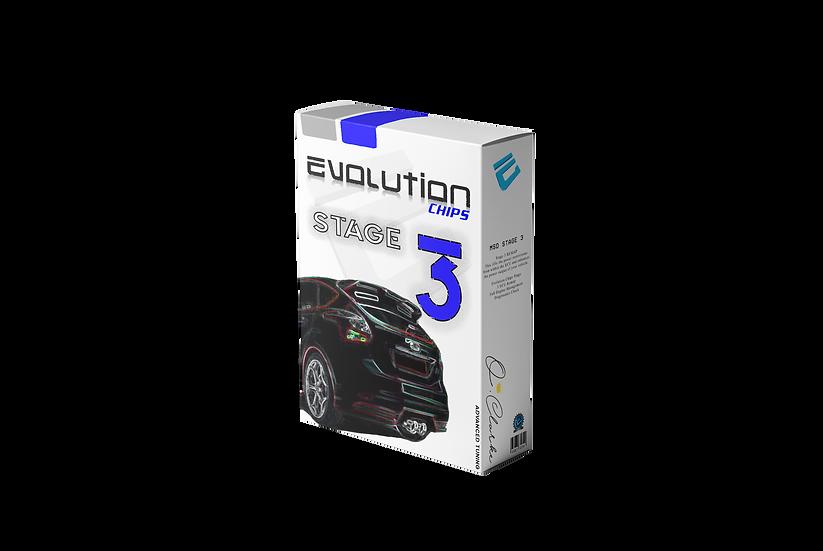 FOCUS ST 250 MK3 STAGE 3 320BHP OCM EVOLUTION CHIPS REMAP