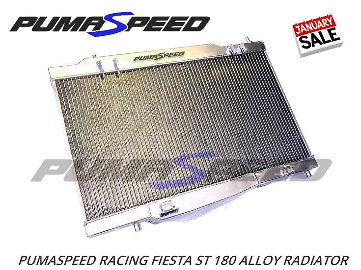 January Sale - Pumaspeed Fiesta ST180 Aluminum Radiator - Single Pass