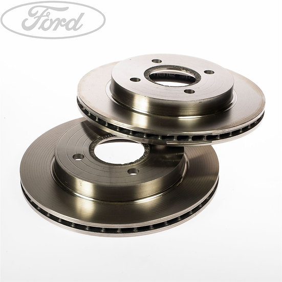 Genuine Ford Front Brake Discs For MK7 Ford Fiesta 1.0 Ecoboost