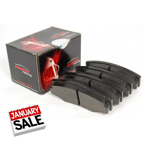 January Sale - MINTEX M1144 PERFORMANCE FRONT BRAKE PADS FOR FIESTA ST180