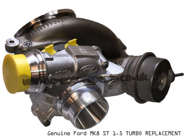 Ford Fiesta ST MK8 1.5 Stock Turbocharger Replacement