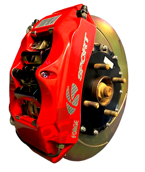 OC Motorsport K SPORT 6 POT BIG BRAKE KIT RED | FIESTA MK7 ST180 304MM