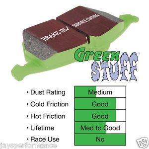 Focus ST Mk3 EBC Green Stuff Rear Pads