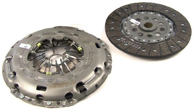 Clutch Plate & Cover Assembly Focus RS Mk2
