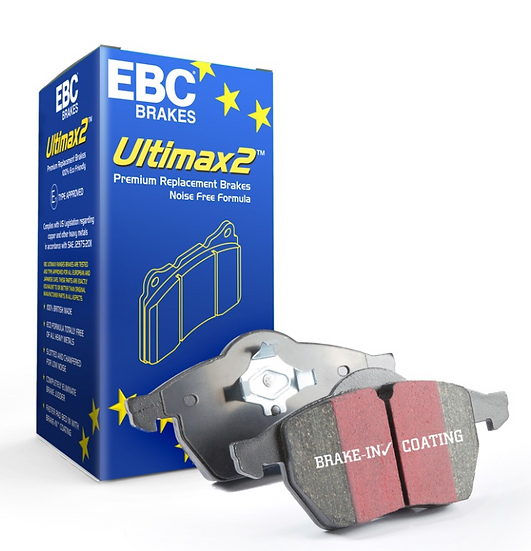 EBC Ford Fiesta ST Mk8 EBC Ultimax OE Replacement Brake Pad Rear Set