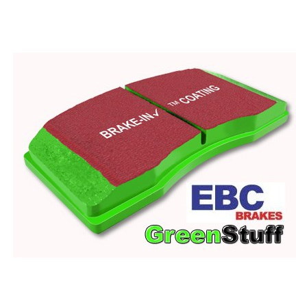EBC Fiesta ST Mk8 EBC Greenstuff 2000 Series Sport Brake Pad Rear Set