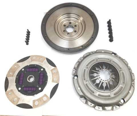RTS FOCUS RS - ST MKII TWIN FRICTION CLUTCH & SINGLE MASS FLYWHEEL CONVERSION