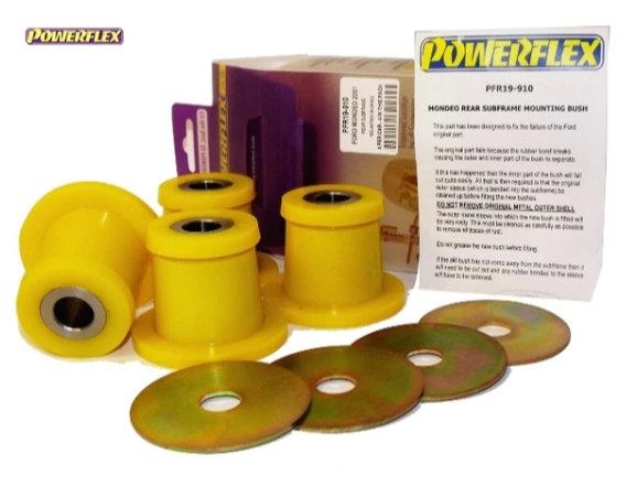 Powerflex Rear Subframe Mounting Bushes Mondeo (2000 to 2007) PFR19-910